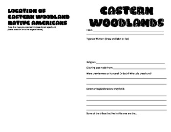 Native American Information Booklet