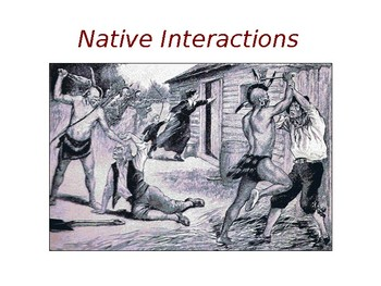 Native American Interactions