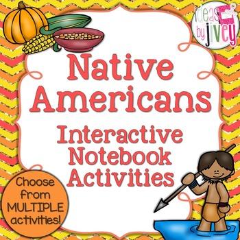 Native American Interactive Notebook Activities