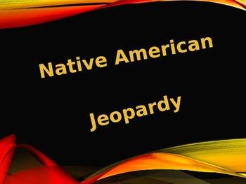 Native American Jeopardy