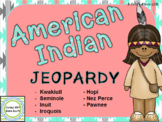 American Indian Jeopardy Review Game - Native American