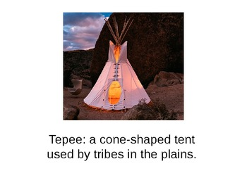 Native American Key Vocabulary
