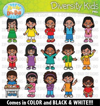 Native American Kids Clipart Set {Zip-A-Dee-Doo-Dah Designs}
