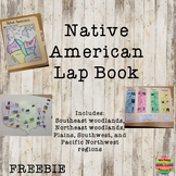 Native American Regions Lap Book