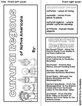 Native American Cultural Regions Lapbook/INB for Upper Elementary
