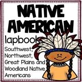 Native American Lapbook [Northwest, Southwest, Great Plain