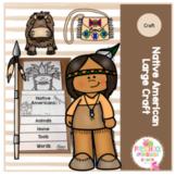Native American Large Flip Book Craft