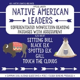 Native American Leaders Nonfiction Reading Passages w/ Assessment
