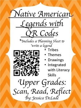 Native American Legends with QR Codes