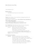 Native American Lesson Plans for Native American Literature