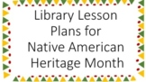 Native American Library Lessons
