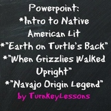 Native American Lit Intro + Origin Myths PPT (Prezi also included)