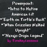 Native American Lit Intro + Origin Myths PPT (Prezi also i