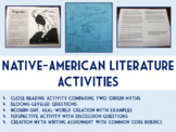 Native American Literature Activities