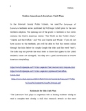 Native American Literature Common Core Unit