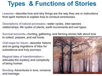 Native American Literature Introduction (themes and types of stories)
