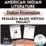 Native American Literature Pre-Unit/Post-Unit Project with Rubric