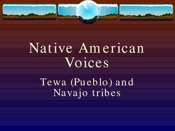 Native American Literature - Tewa (Pueblo) & Navajo Songs
