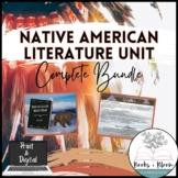 Engaging Native American Literature Unit Bundle - Print an