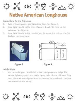 Native American Studies Craft: Longhouse Hands-On Project