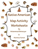 Native American Map Activity Worksheets