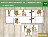 Native American Match-Up and Memory
