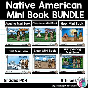 Native American Mini Book Bundle #1- Sioux, Hopi, Apache, Cheyenne, Inuit