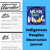 Native American Music Listening Journal