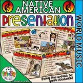 Native American Music Presentation (World Music)