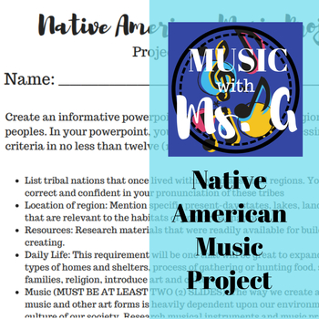 Native American Music Research Project