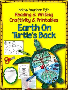 NATIVE AMERICAN MYTH: EARTH ON TURTLE'S BACK CRAFTIVITY AND PRINTABLES