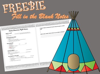 Native American Myth Guided Notes