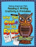 NATIVE AMERICAN MYTH: WHY THE OWL HAS BIG EYES, CRAFTIVITY AND PRINTABLES