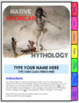 Native American Mythology Digital Interactive Notebook (First Americans)