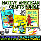 NATIVE AMERICAN CRAFTS READING WRITING AND PRINTABLES BUNDLE