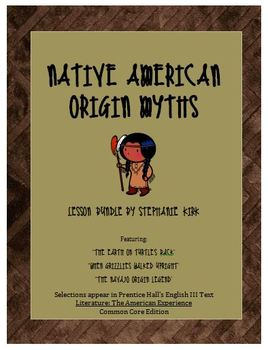 Native American Myths (Prentice Hall's Literature) America