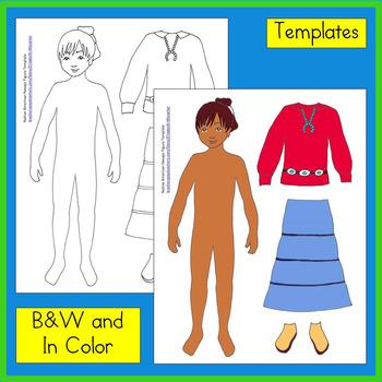 Native American Studies Craft: Navajo Paper Doll {Freebie}