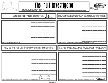 Native American Student Created Newspapers Bundled Pack