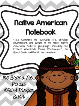 Native American Notebook (Aligned with South Carolina 4th Grade SS 4-1.2)