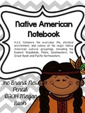 Native American Notebook (Aligned with South Carolina 4th