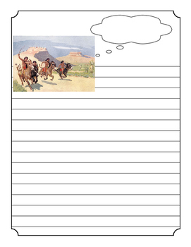 Native American Notebooking pages
