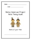 Native American Notetaking Guide