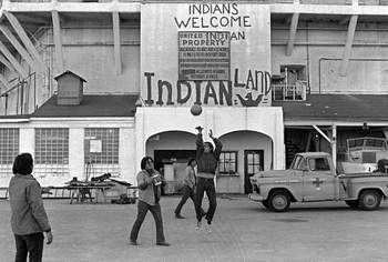 Native American Occupation of Alcatraz