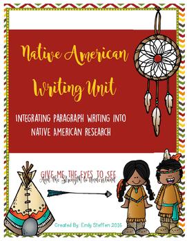 Native American Paragraph Writing