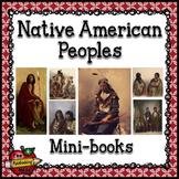 Native American Peoples Mini-books