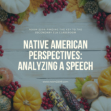 Native American Perspectives: Analyzing a Speech