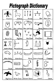 Examples of native american pictographs pdf