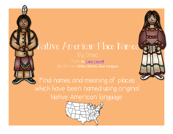 Native American Place Names