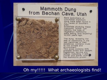 Native American PowerPoint Series-Mammoths, Archaeology, Ancient Americans