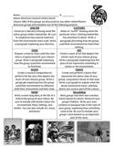 Native American Project Choice Board